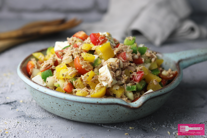 Leckerer und einfacher Low Carb Thunfischsalat