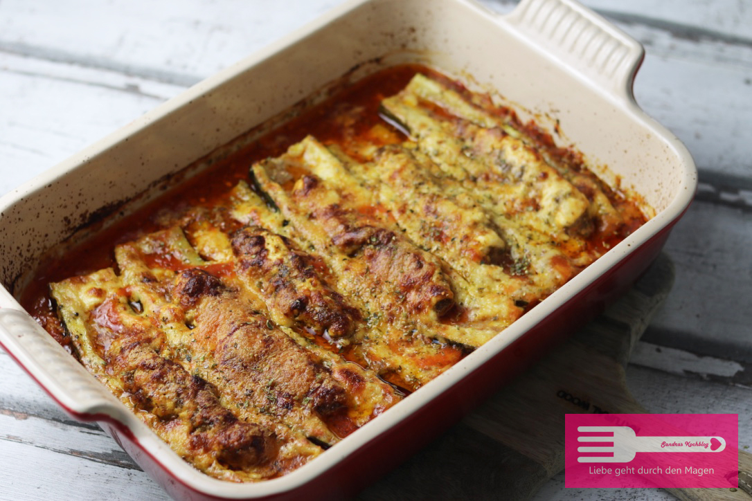 Zucchin Gratin Low Carb