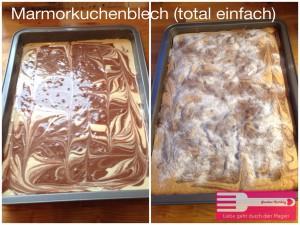 Marmorkuchen Blech Sandras Kochblog