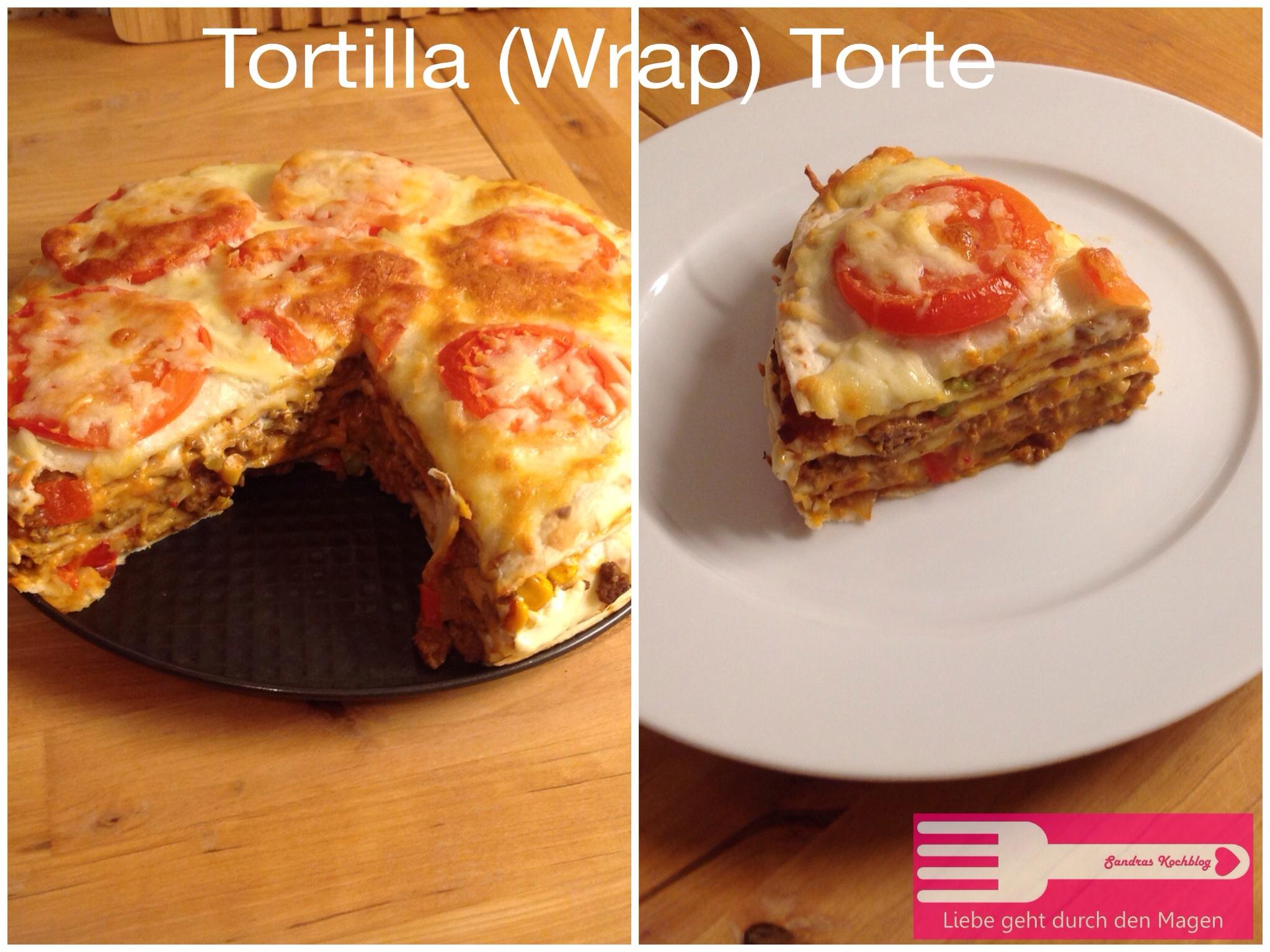 Tortilla Wrap Torte Sandras Kochblog