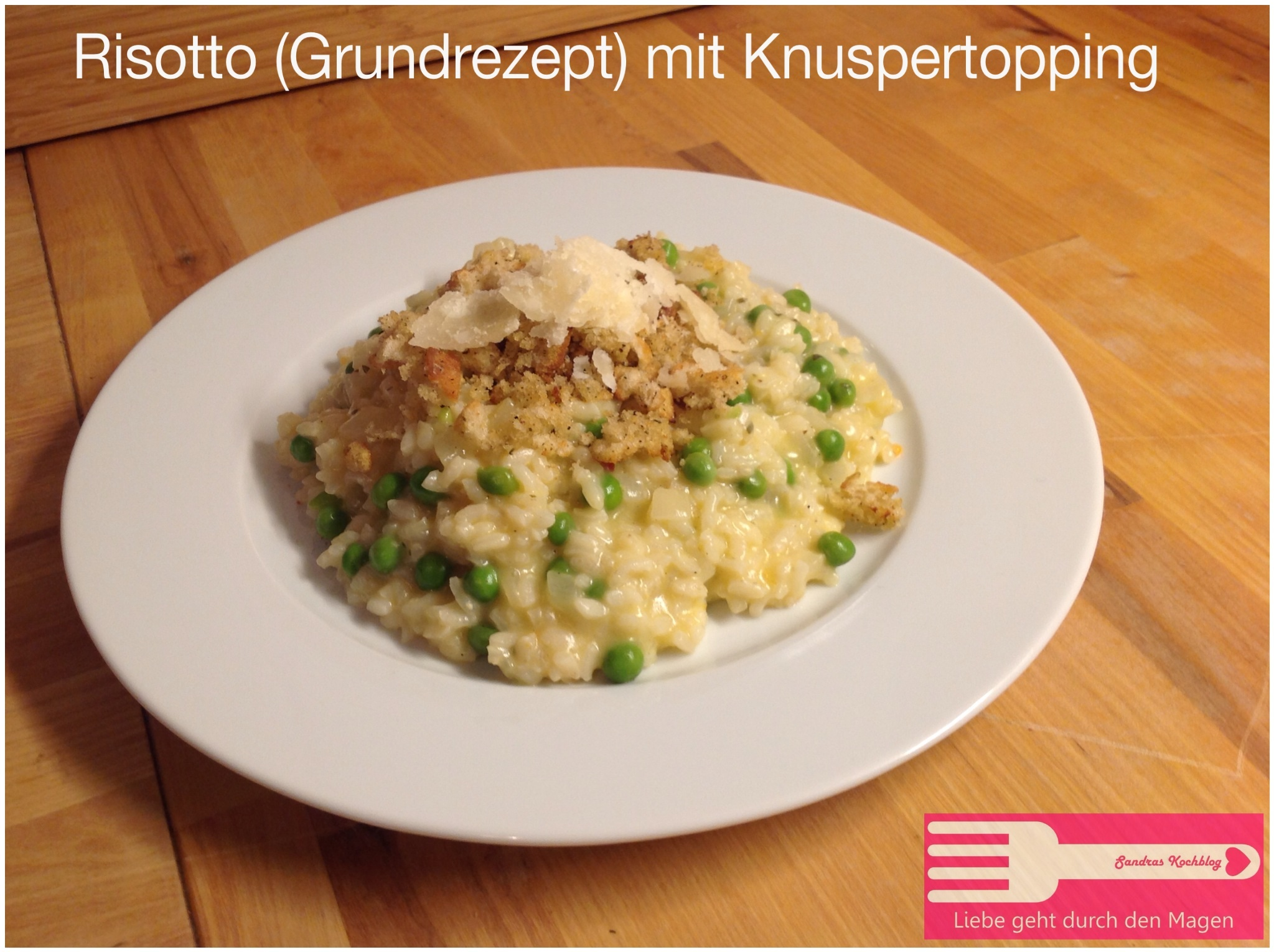 Risotto mit Knupser Topping