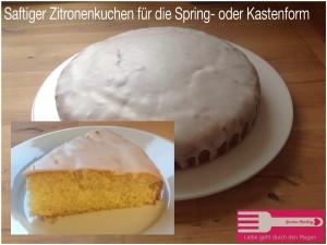 Saftiger Zitronenkuchen Sandras Kochblog