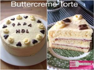 Buttercreme Torte Sandras Kochblog