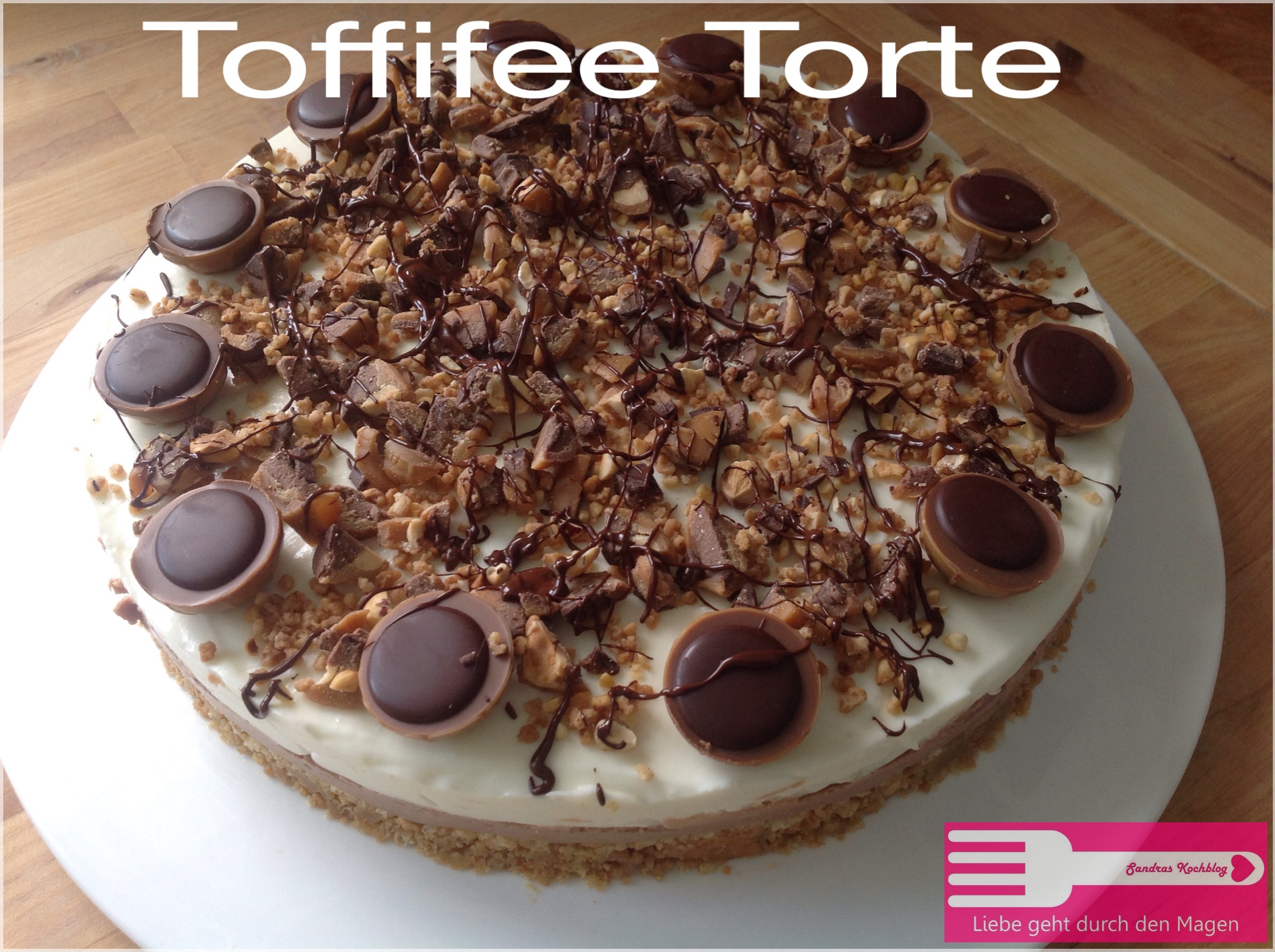 toffifee torte sandras kochblog. Black Bedroom Furniture Sets. Home Design Ideas