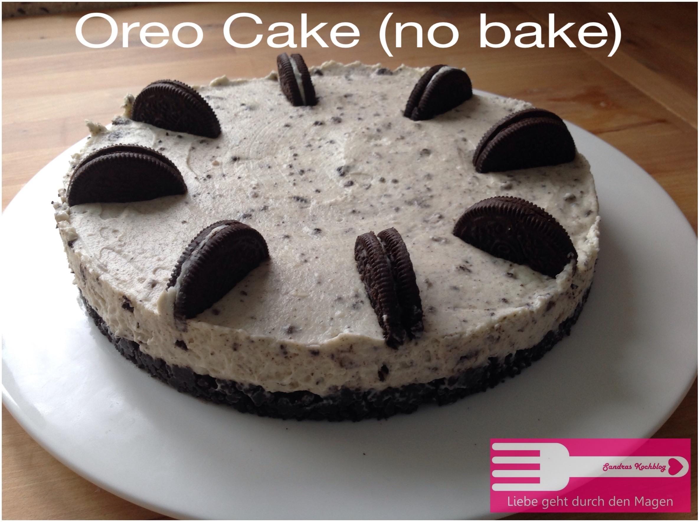 oreo cake no bake liebe geht durch den magen. Black Bedroom Furniture Sets. Home Design Ideas