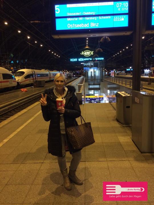 Auf dem Weg von Köln nach Hamburg