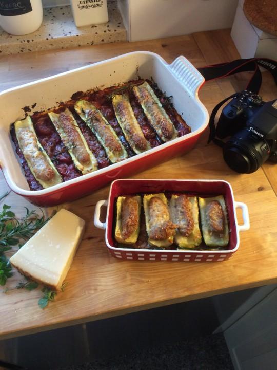 Während des Kochens wird manchmal auch fotografiert