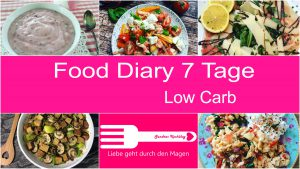 Mein 5. Food Diary