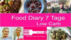 Food Diary Low Carb