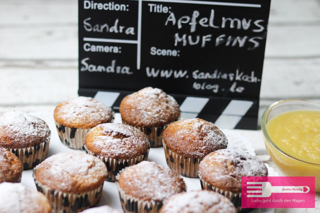 apfelmus muffins sandras kochblog. Black Bedroom Furniture Sets. Home Design Ideas