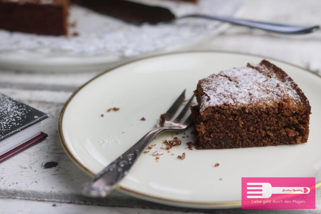Ein guter Schokoladenkuchen muss zwangsläufig klebrig sein, oder?