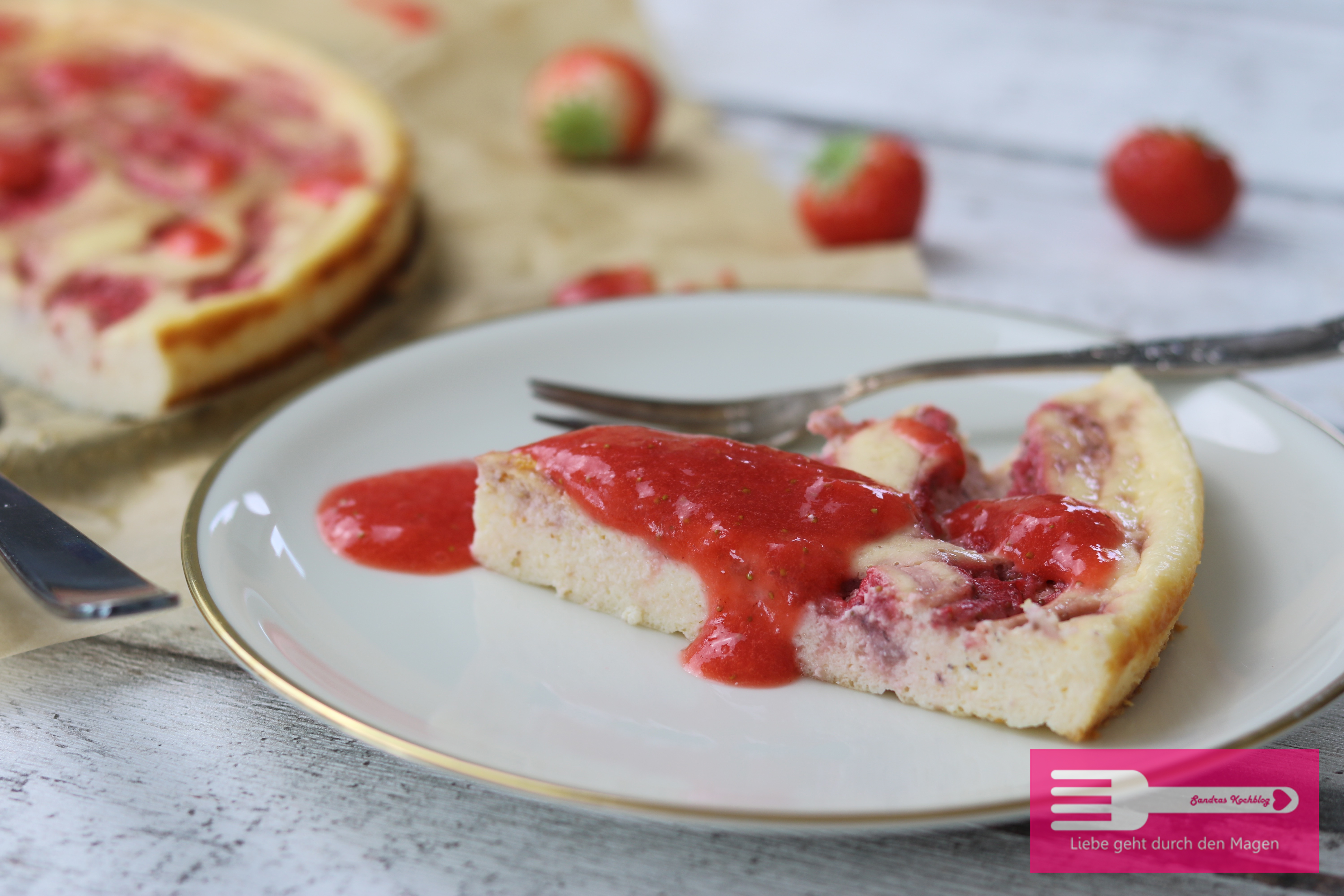 Strawberry Cheesecake (Low Carb)