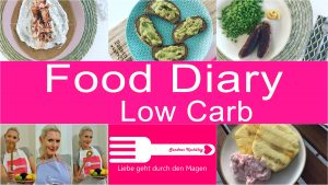 Food Diary Low Carb YouTube