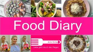 Food Diary realistisch ungesund