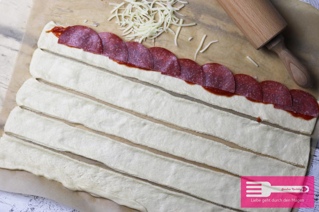 Pizzarosen / Salamirosen