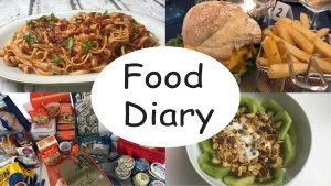 Food Diary YouTube
