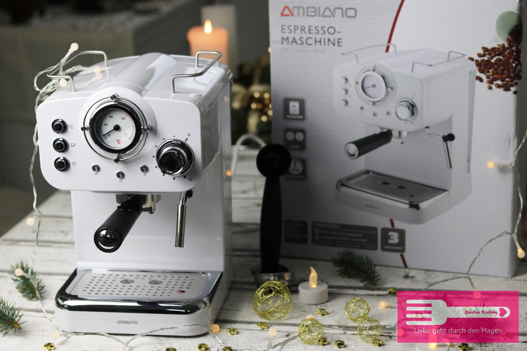 Retro Espresso Maschine ab dem 14.12.2017 bei ALDI SÜD