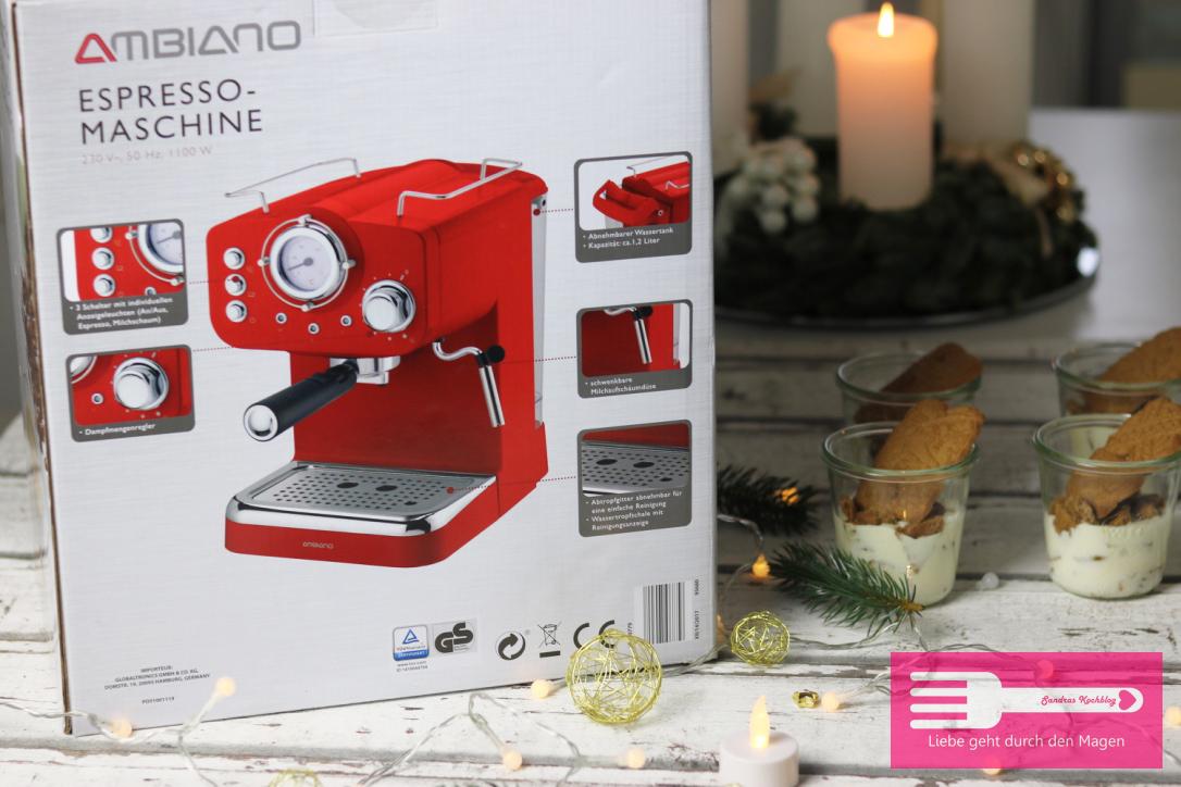 Der Gewinner darf sich über diese tolle Maschine in klassischem rot freuen