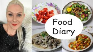 Food Diary Low Carb deutsch