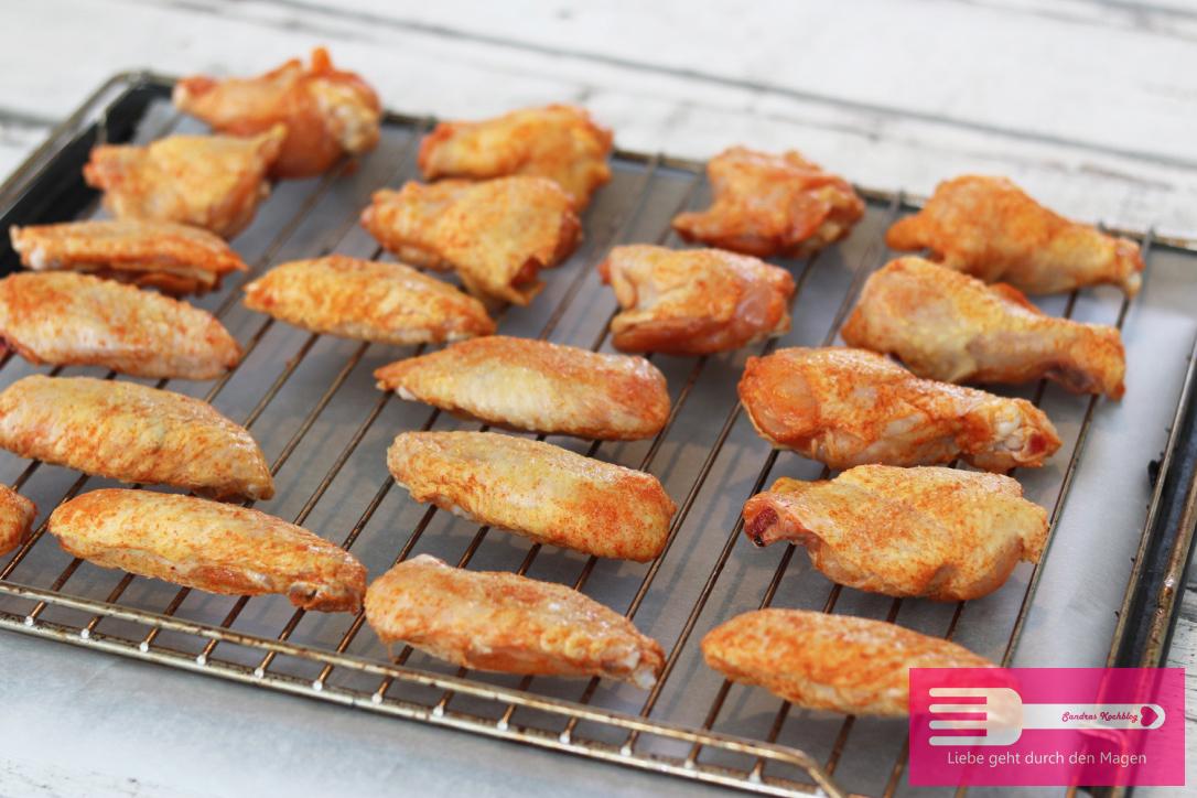 Chicken Wings Backofen und Grill