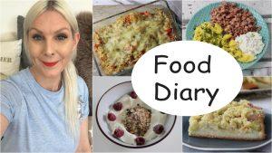 Food Diary Low Carb Sandras Kochblog