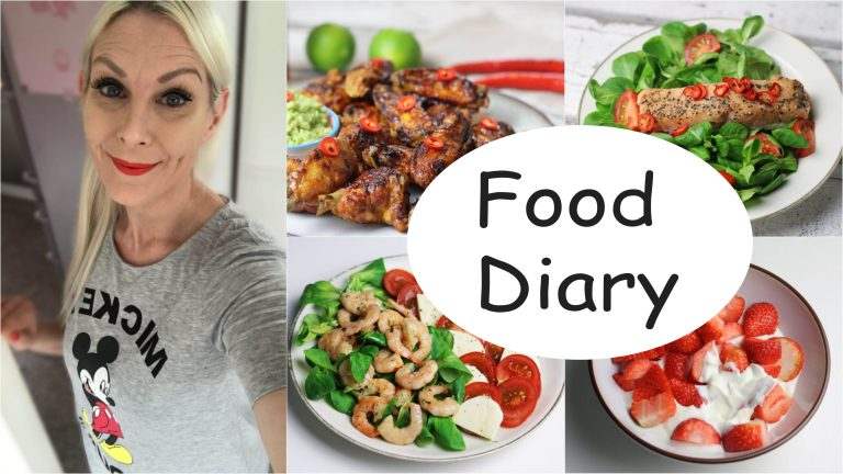 Food Diary Low Carb Sandras Kochblog