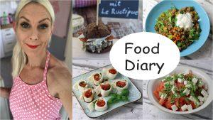 Food Diary Low Carb abnehmen Sandras Kochblog