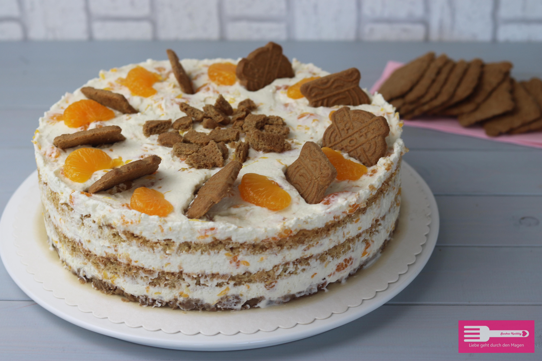 Spekulatius Mandarinen Torte