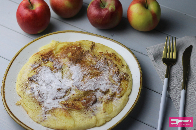 Apfelpfannkuchen einfach und schnell
