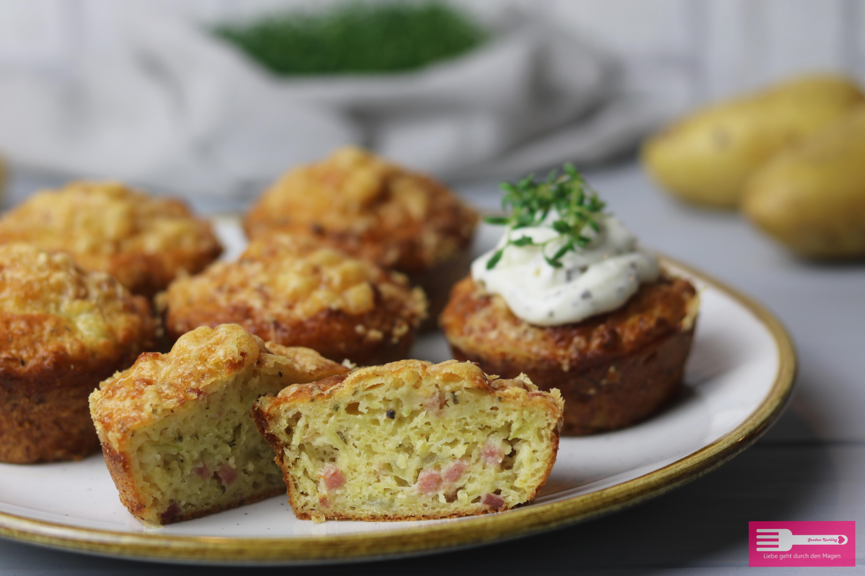 Kartoffel Muffins herzhaft