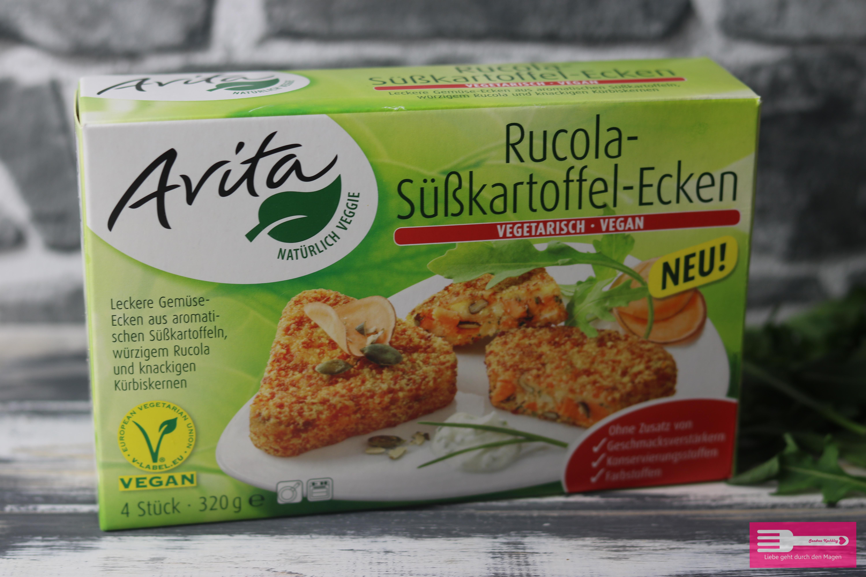 Rucola Süßkartoffel Ecken von Avita