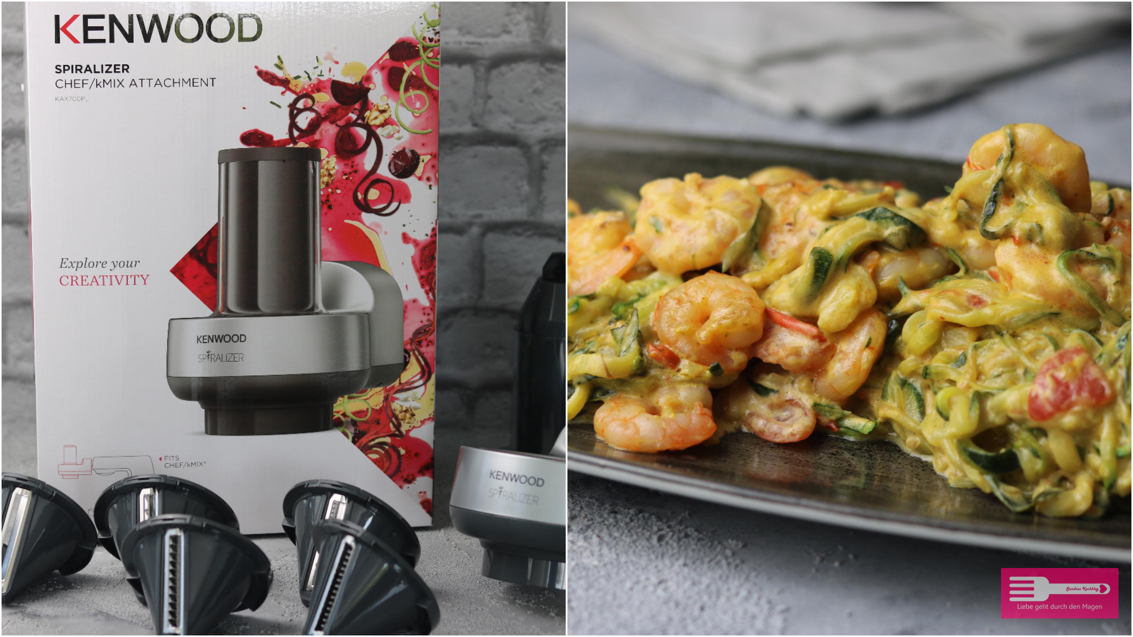 Der praktische Spiral Schneider für die Kenwood Cooking Chef