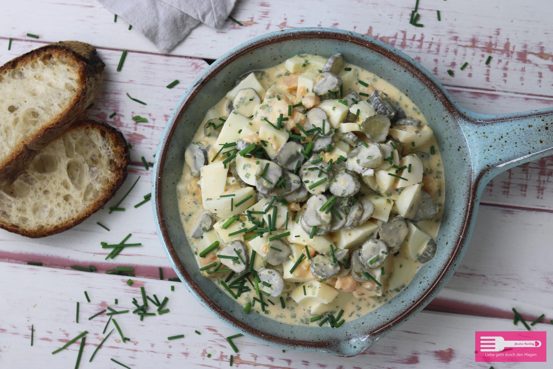Schneller und leckerer Eiersalat einfach gemacht