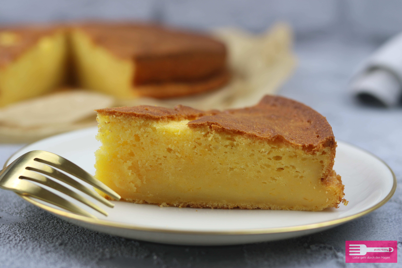 Schnell gemachter Puddingkuchen wunderbar saftig