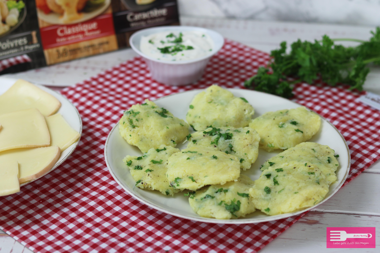 Kartoffel Plätzchen vom Raclette Grill