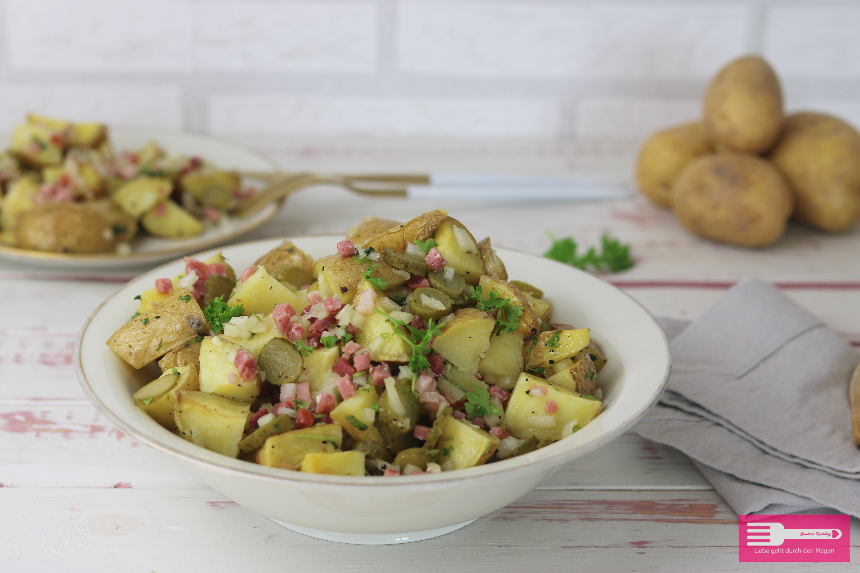 Kartoffelsalat Ofen Speck