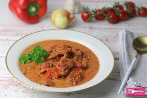 Chorizo Paprika Topf Low Carb