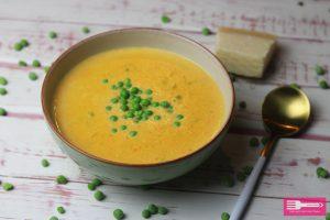 Möhren Schmelzkäse Suppe Low Carb