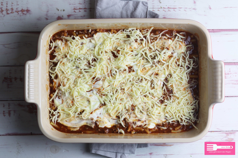 Ofen Makkaroni schnell vorbereitet mit wenigen Zutaten